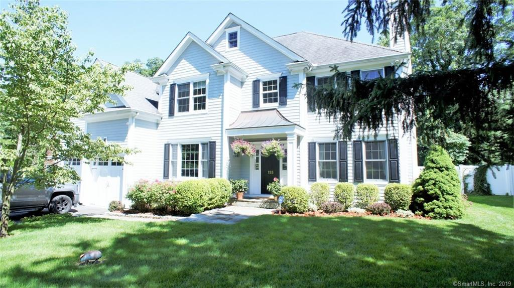 New Listing! – Darien single family home: 155 West Ave